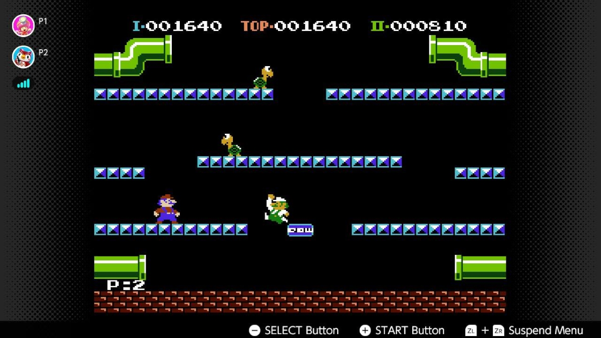 NES Switch Online Collection Mario Bros Online