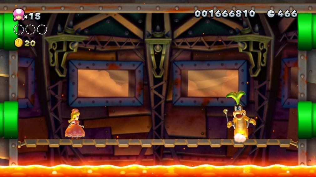 New Super Mario Bros U Deluxe Switch Screenshot Peachette Versus Koopaling