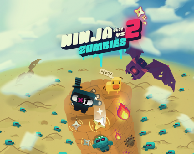 Ninja Dude vs Zombies 2 artwork - The game's logo
