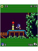 Sonic The Hedgehog 2 - Crash mobile game