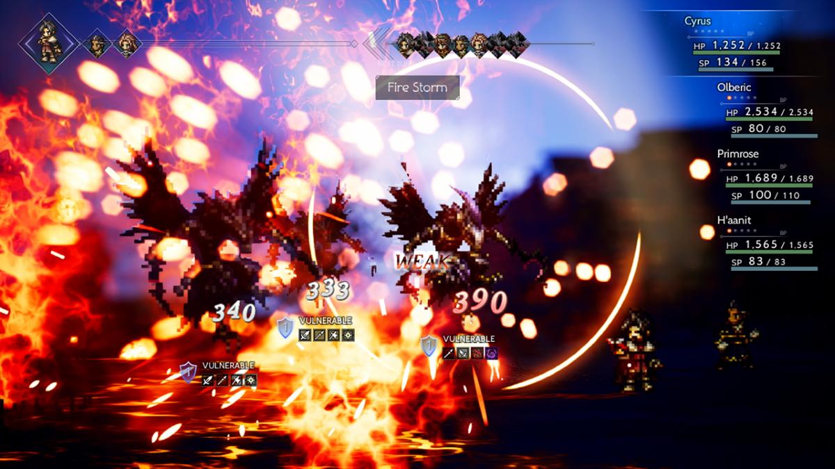 Octopath Traveler Screenshot 2
