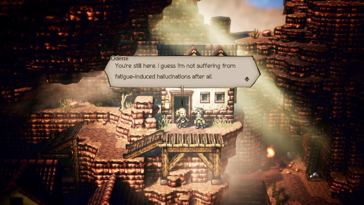 Octopath Traveler Screenshot 1