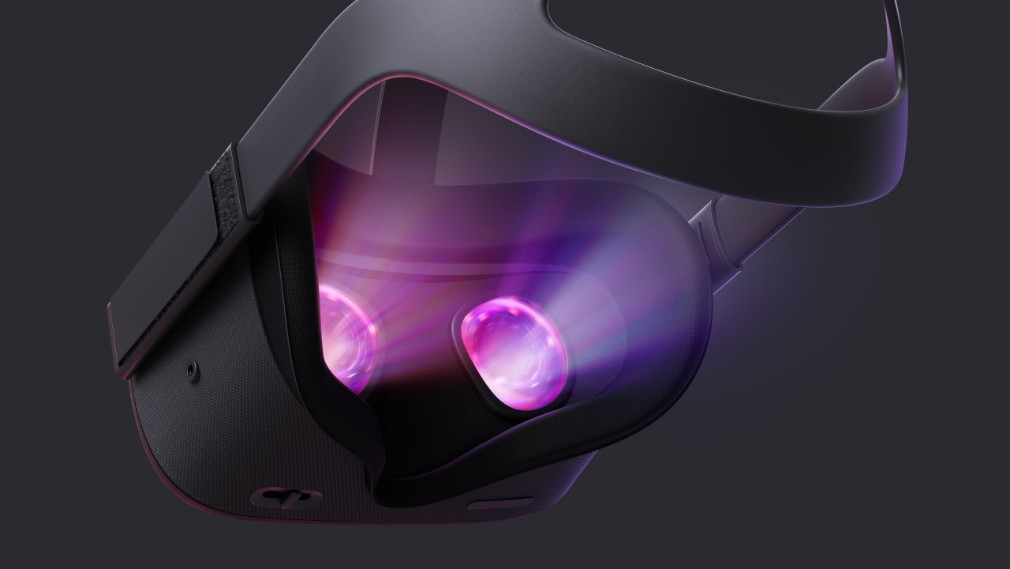 Oculus Quest image - The back of the device