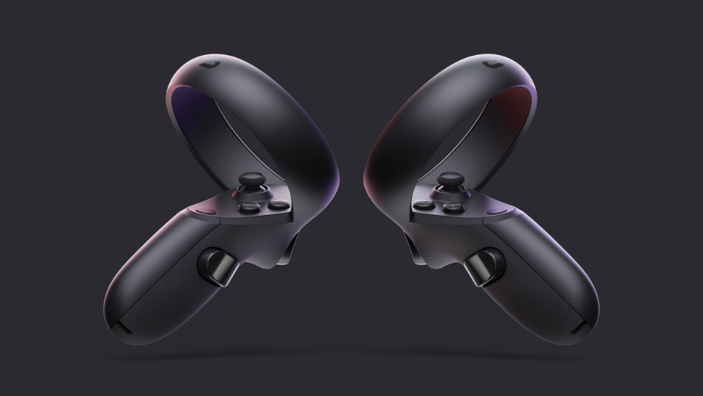 Oculus Quest image - The controllers