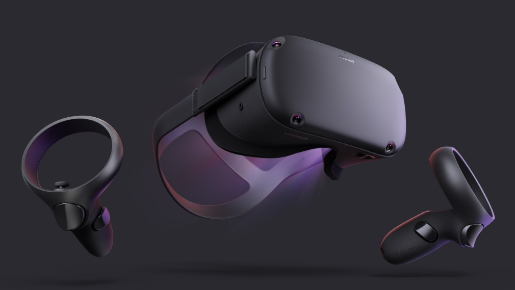 Oculus Quest image - The front of the device