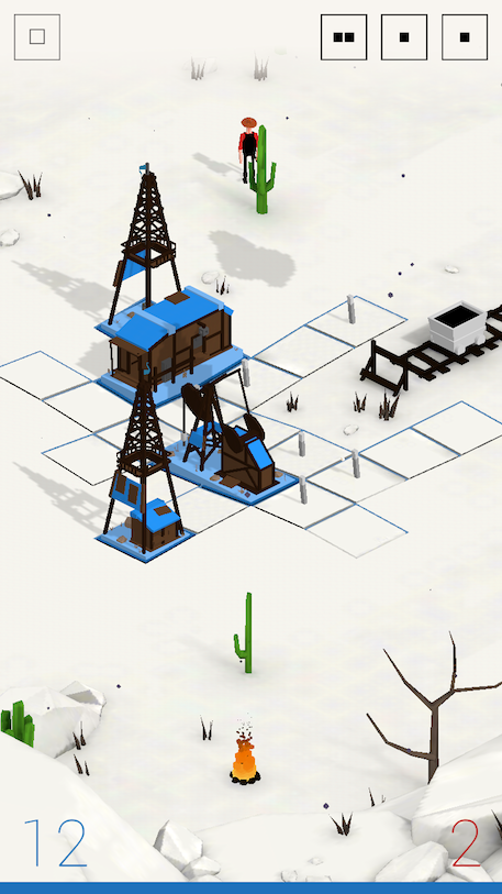 Oil iOS review screenshot