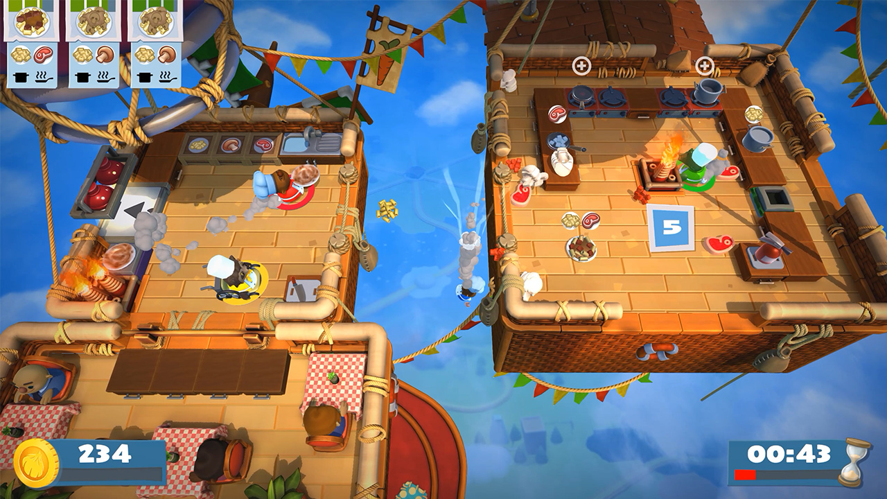 Overcooked 2 Switch Balloons Screenshot
