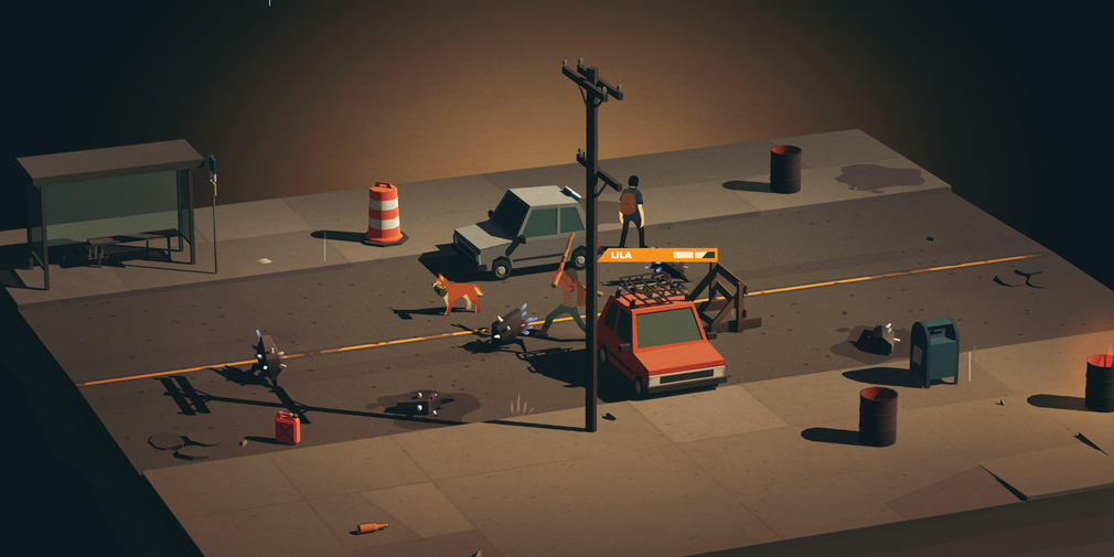 Finji's Overland Turn Based Combat with an Alien