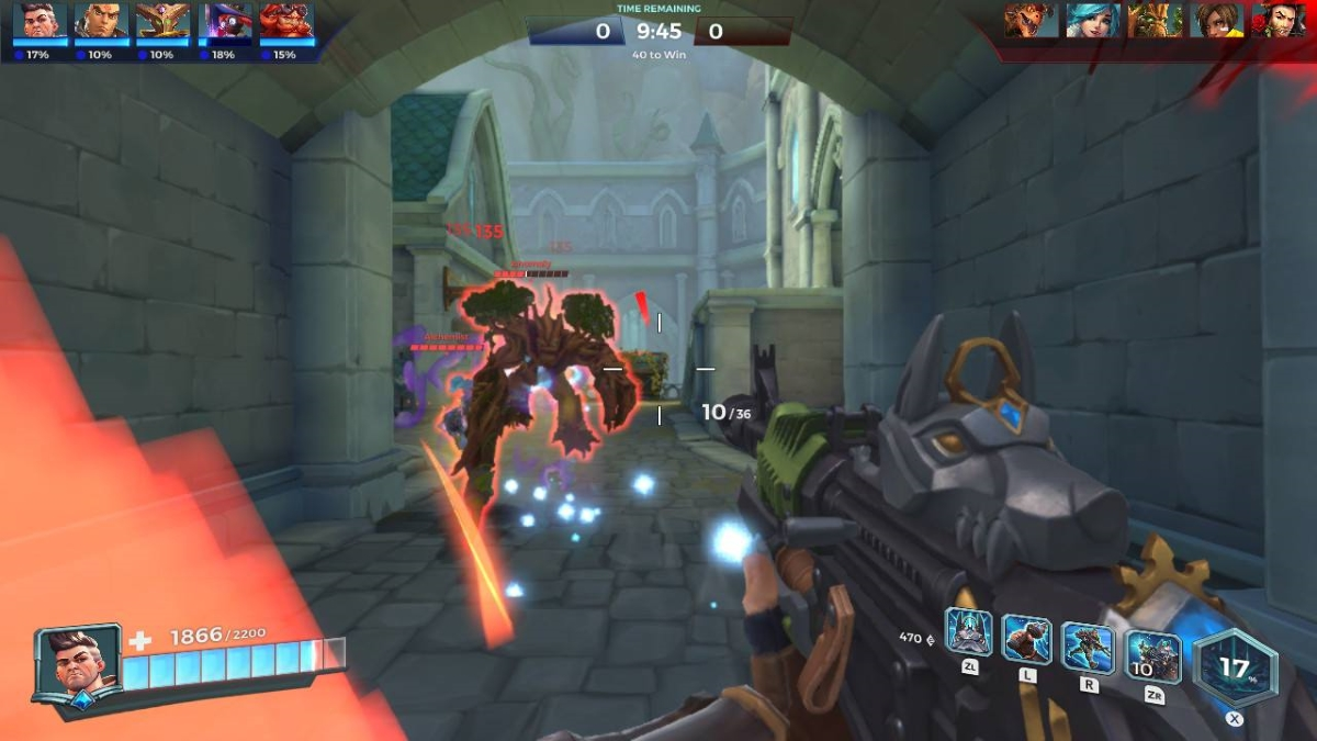Paladins Switch Screenshot 2