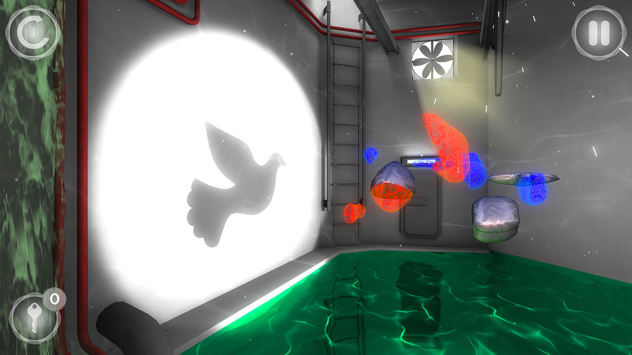 Perfect Angle Switch review screenshot a bird puzzle