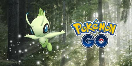 Celebi in Pokemon GO