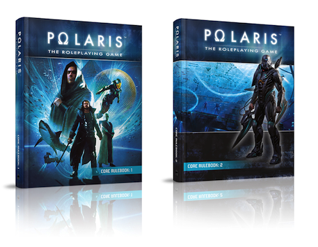 Polaris RPG rule books