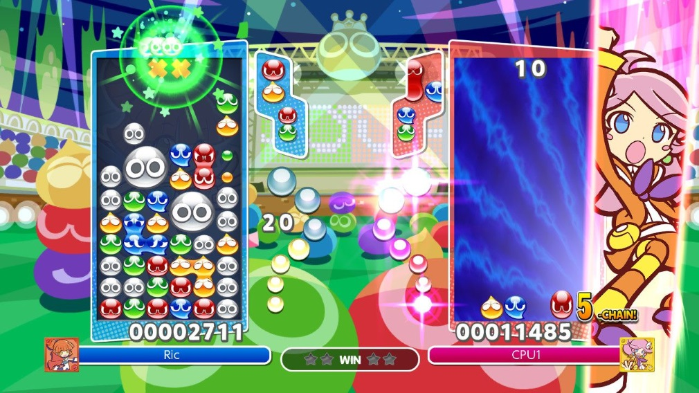 Puyo Puyo Champions Switch Screenshot Two Player Fever Mode