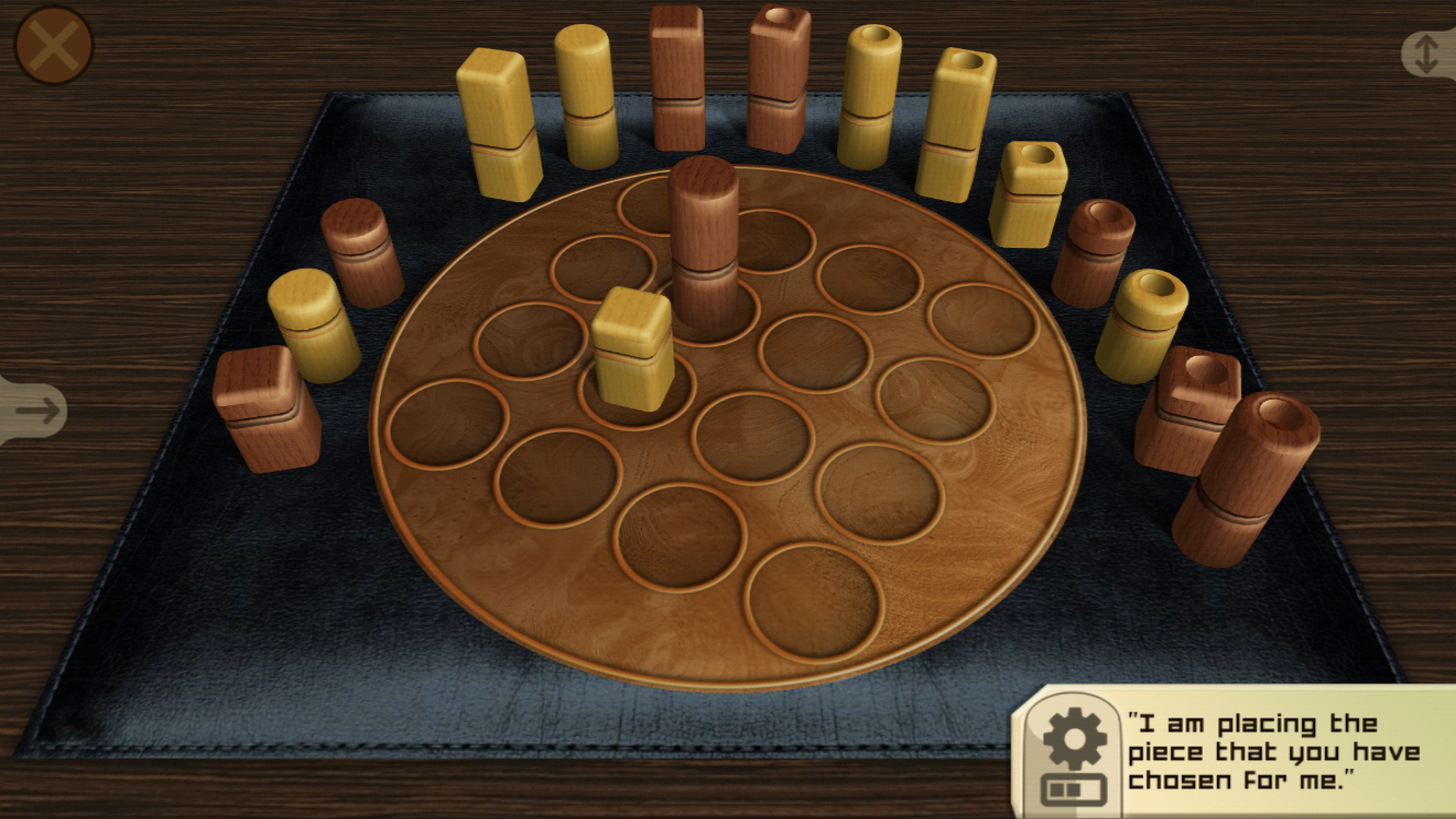 Quarto iOS review screenshot - Playing a standard game
