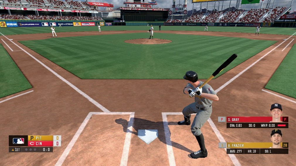 R.B.I. Baseball 19 Switch Screenshot Stepping Up To Bat