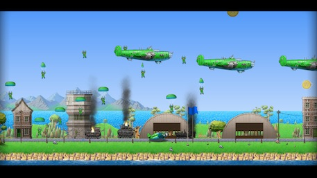 Rogue Aces Switch review screenshot 2
