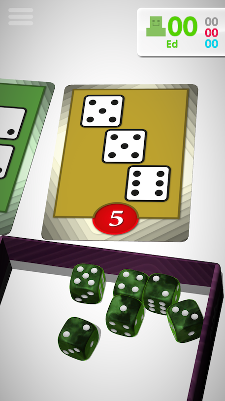 Roll For It board game review iOS screenshot