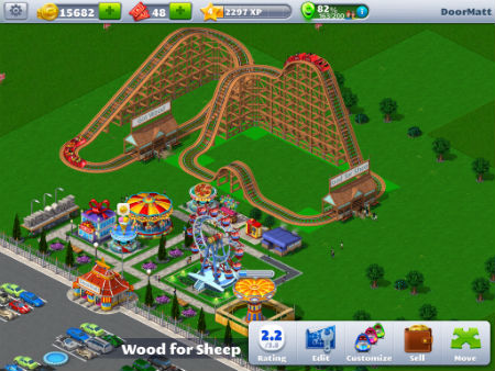 Rollercoaster Tycoon 4 Mobile   Articles   Pocket Gamer