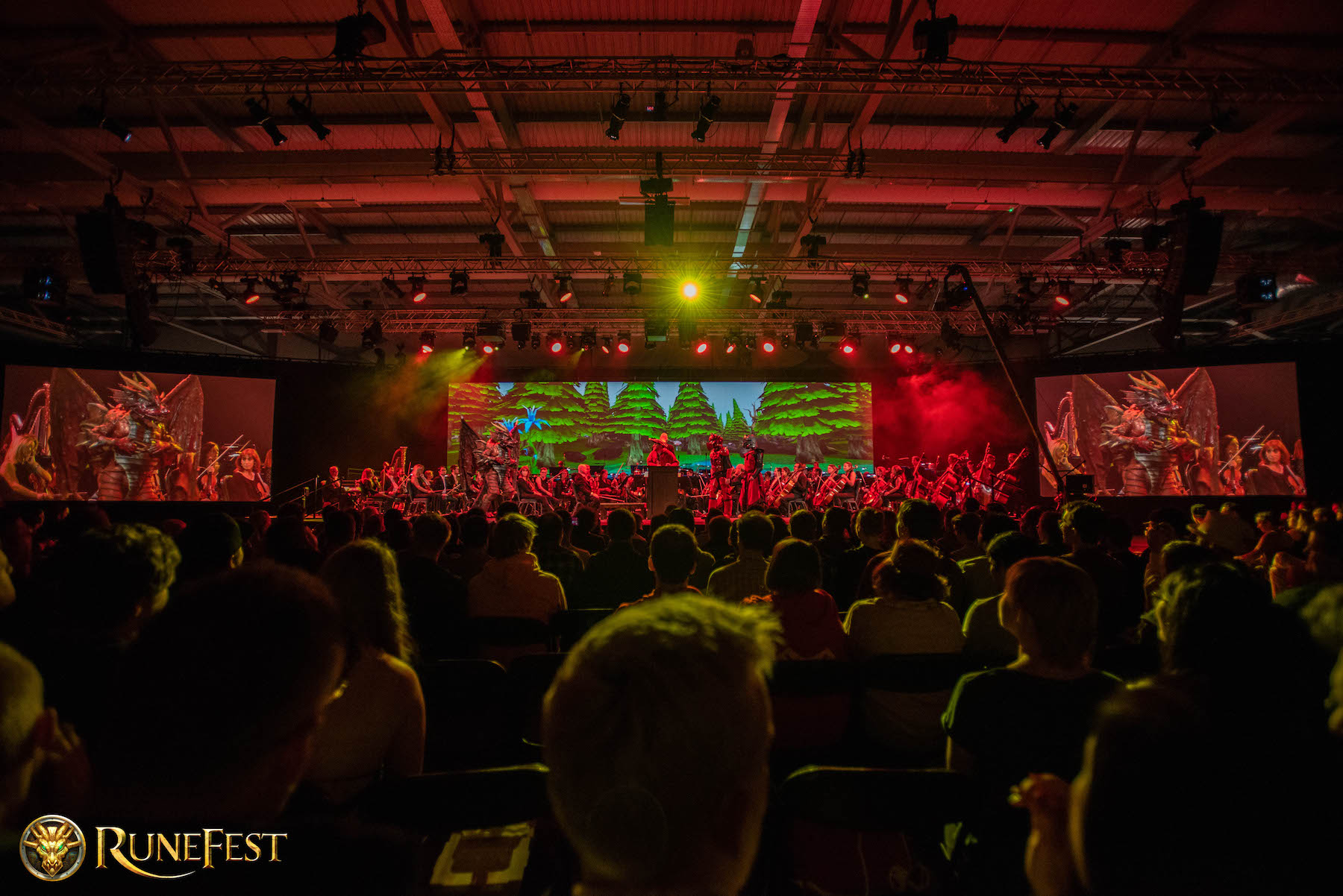 Runefest image - The attendees