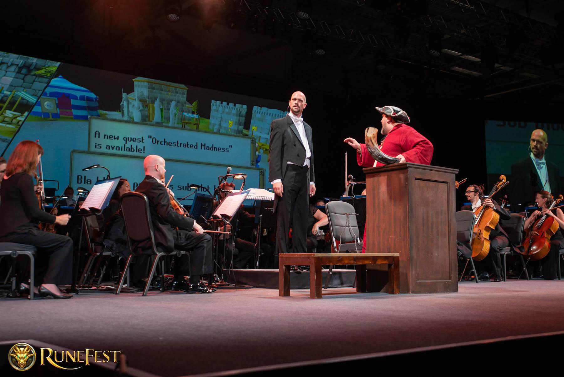 Runefest image - The concert in full swing