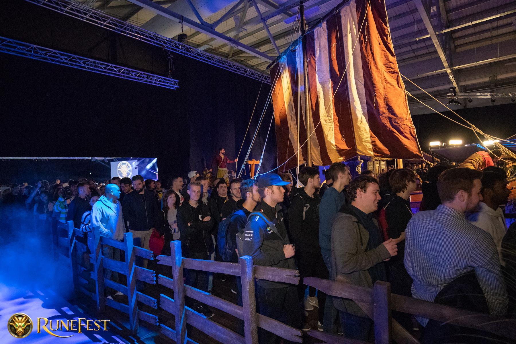 Runefest image - The Viking boat