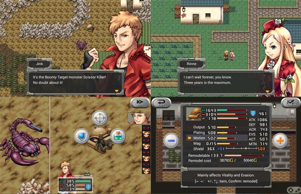 Kemco delivers retro RPGs with Alphadia Genesis on iOS, and Rusted