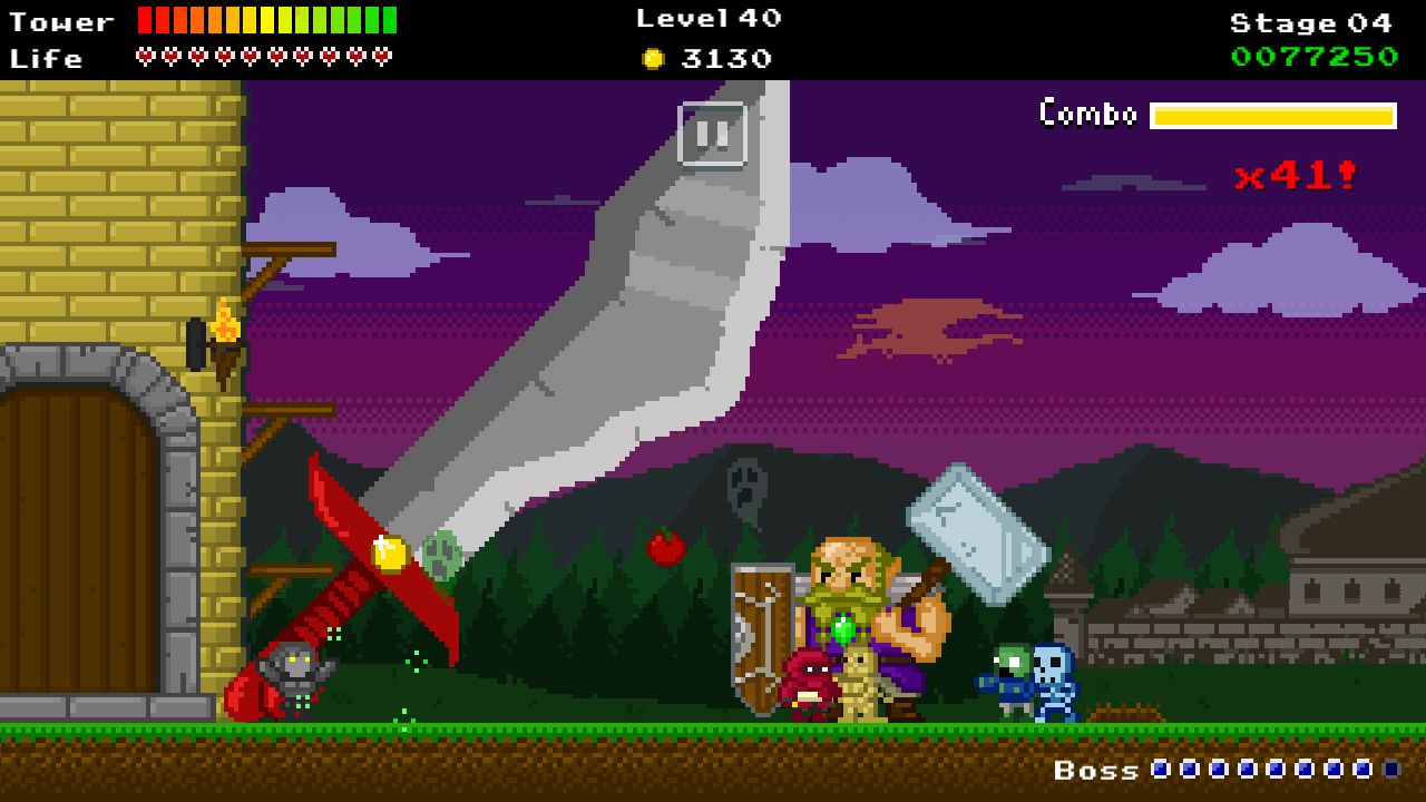 Update] 8-bit retro tower defender Warcher Defenders delayed