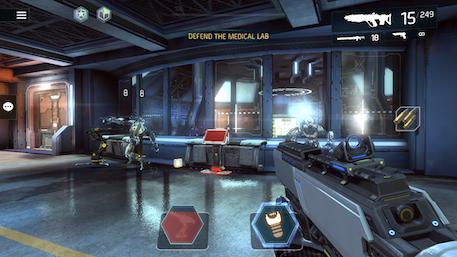 Shadowgun Legends iOS review screenshot 1