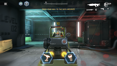 Shadowgun Legends iOS review screenshot 2