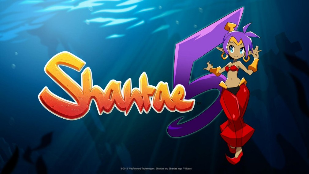 Shantae 5 Apple Arcade artwork - The logo of the game