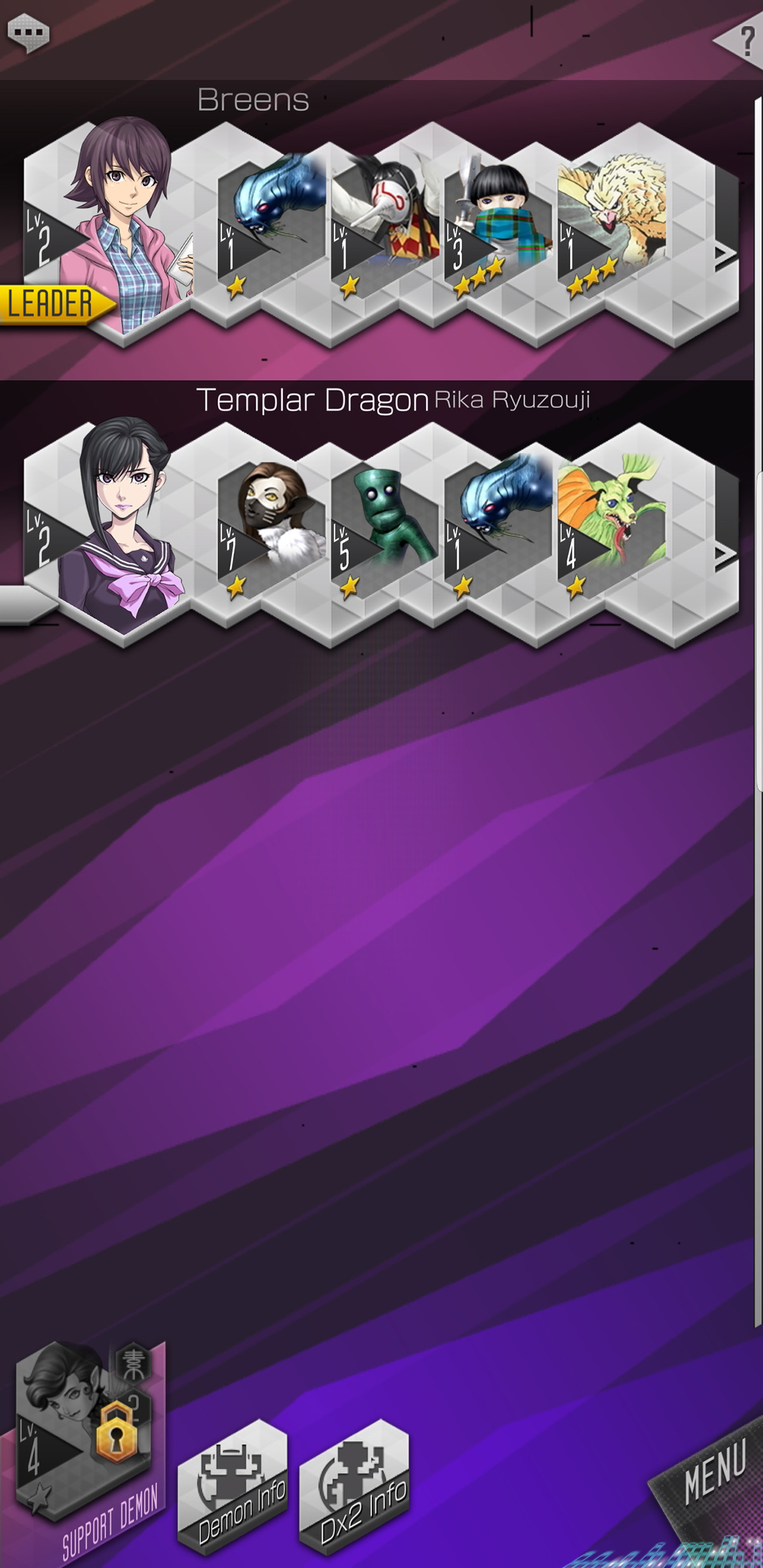 Shin Megami Tensei Liberation Dx2 cheats and tips - Everything you