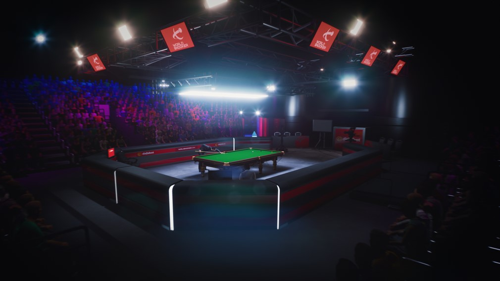 Snooker 19 Switch Screenshot Wide Angle of Table