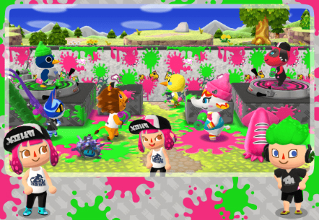 Splatoon Animal Crossing Crossover