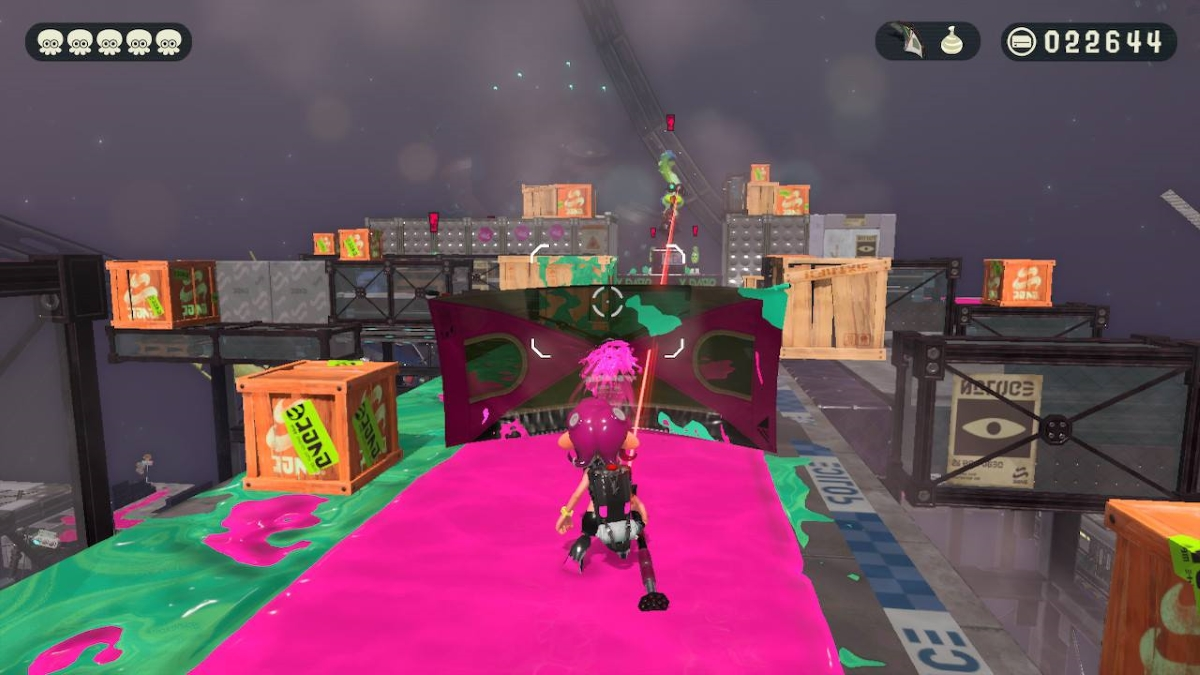 Splatoon 2 Octo Expansion Umbrella Shield