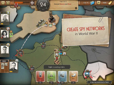 Spymaster is a free to play game of spies and espionage