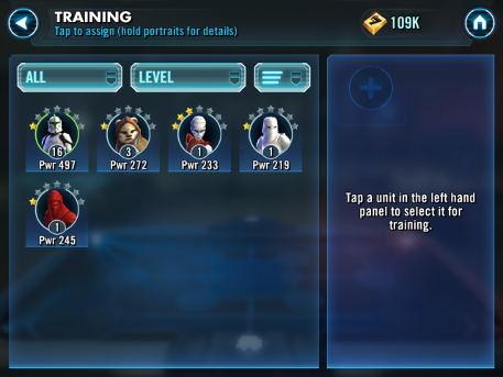 How to fight for free in Star Wars: Galaxy of Heroes - Hints