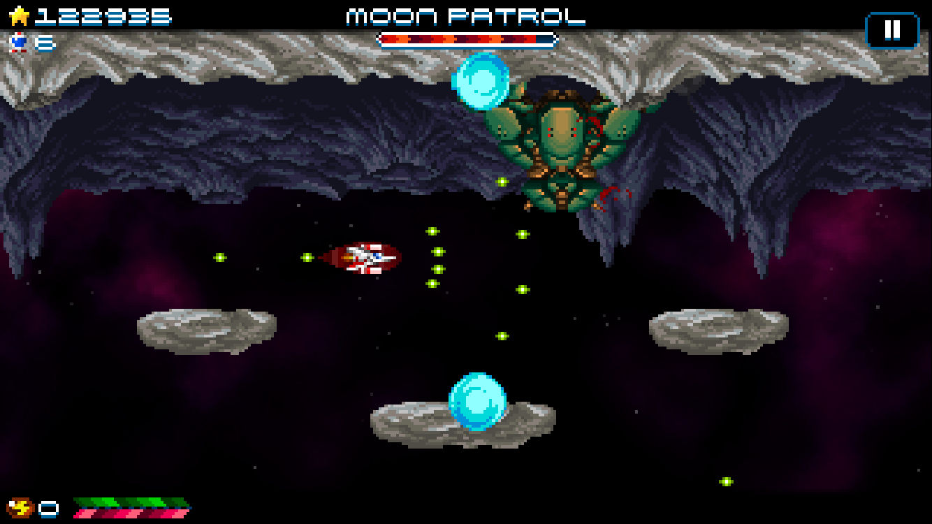 Super Hydorah iOS review screenshot 2