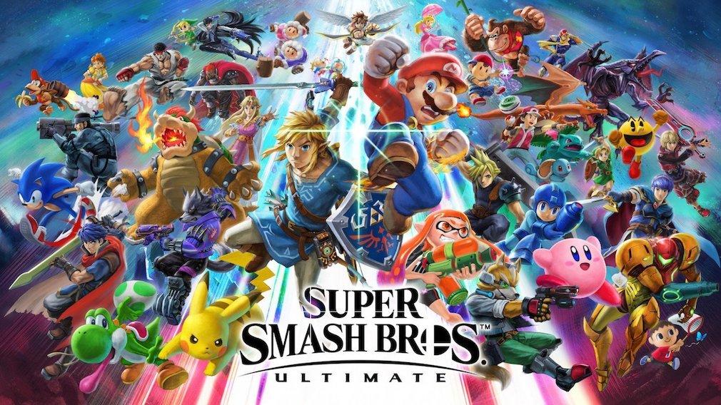 Super Smash Bros. Ultimate artwork - The game's roster