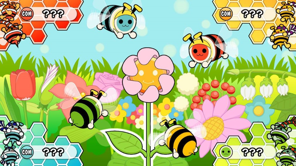 Taiko no Tatsujin: Drum 'n' Fun Switch Screenshot Bee Party Game