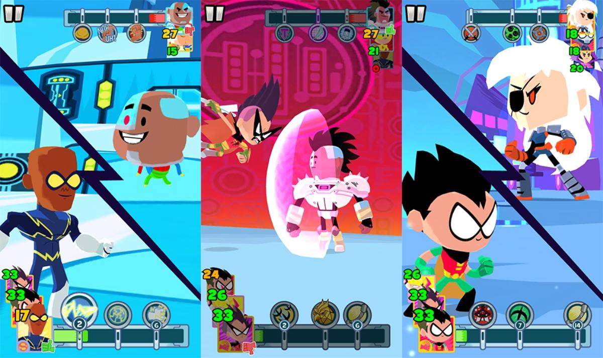 Biz game teen titans battle you