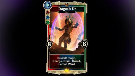 Houses of Morrowind Dagoth Ur card