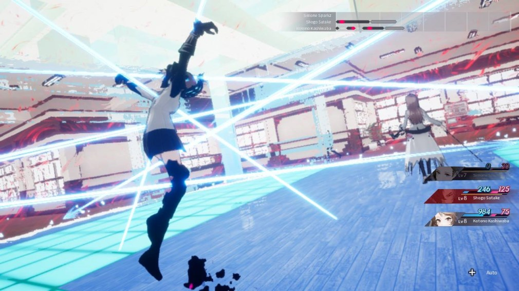 The Caligula Effect: Overdose Switch Screenshot Held Up By Lasers