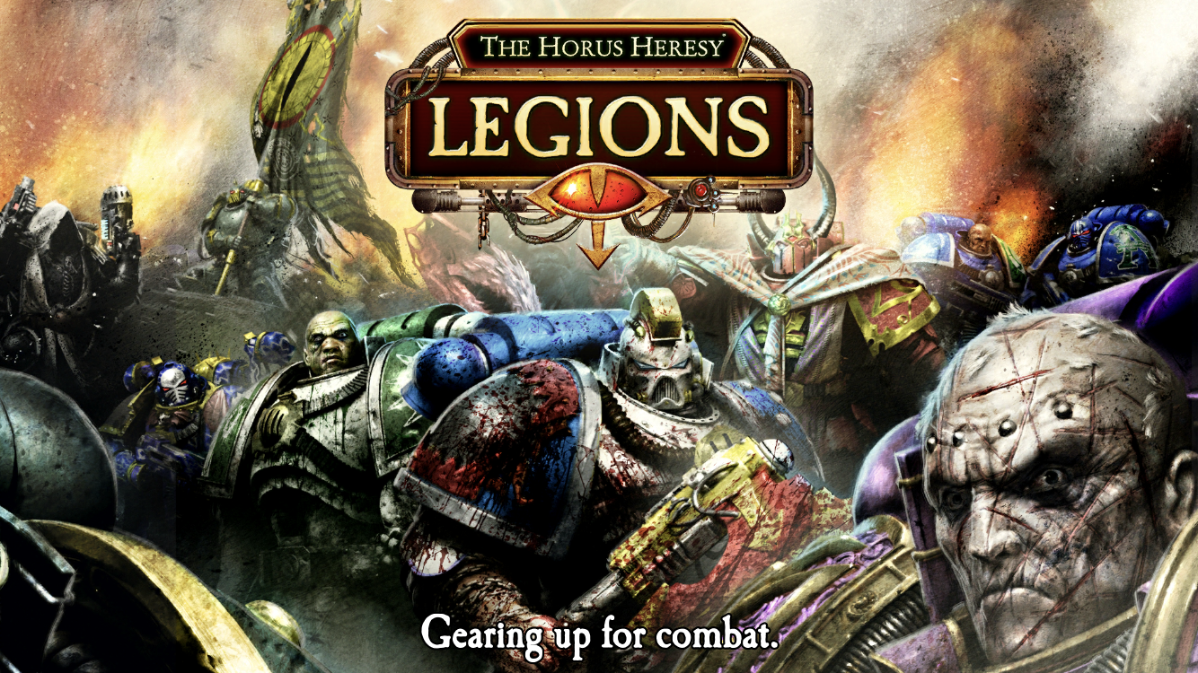 The Horus Heresy Legions guide screenshot - Loading the game