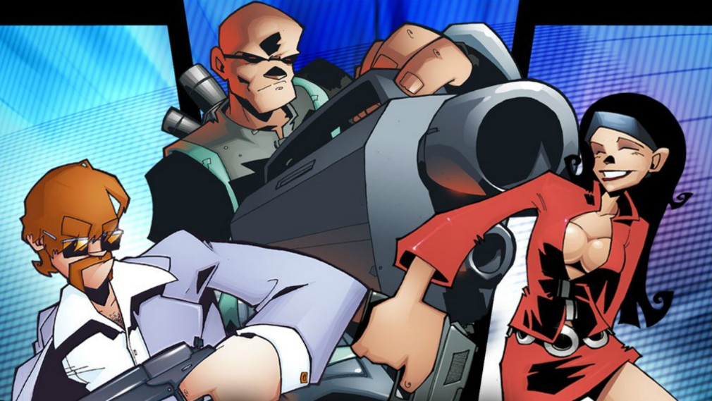 Timesplitters screenshot - Three of the characters from the game