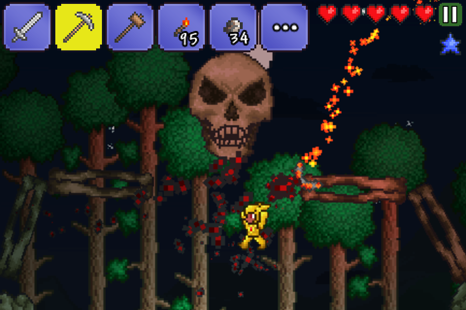 Terraria drops to £1 79/$1 99 on Google Play for a limited