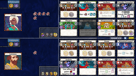 age of rivals, strategy, CCG, deck building