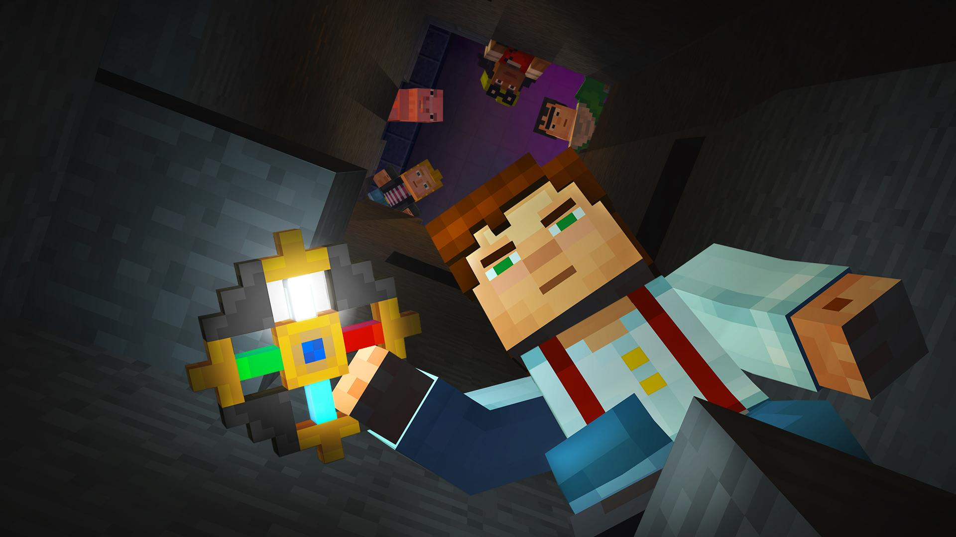 Update] Incoming: the grand finale of Minecraft Story Mode's DLC is