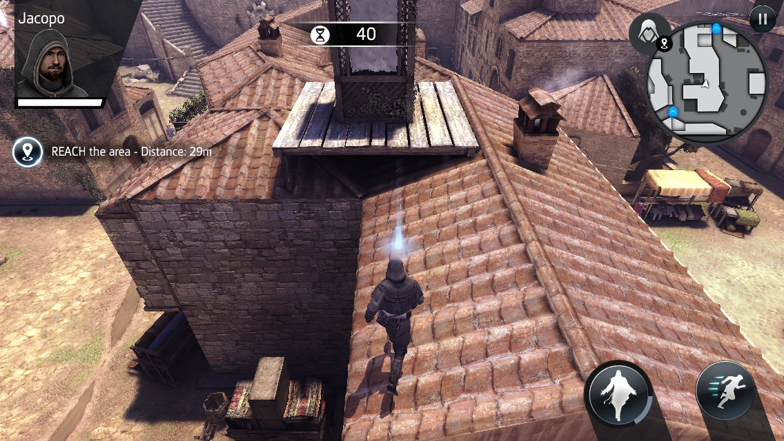F2P Assassin's Creed - Identity is the closest iOS has to a