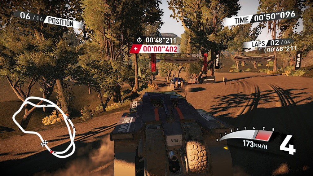 V-Rally 4 Switch Screenshot Buggy Mode Big Tank of a Car