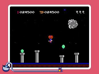 Warioware Gold 3DS screenshot - Mario makes an appearance